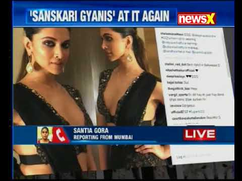 Deepika Padukone trolled over her saree picture viral on the internet