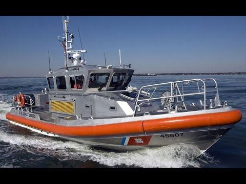 Armed US Coast Guard Escorts Staten Island Ferry