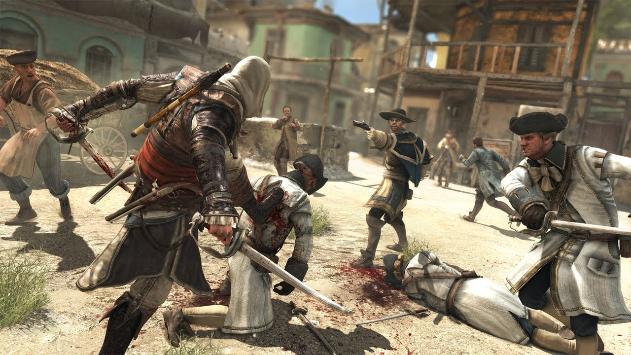 Assassin's Creed IV: Black Flag - Pure Combat Gameplay