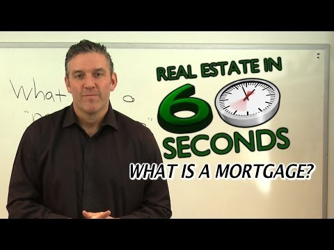 What is a Mortgage? - Real Estate in 60 Seconds