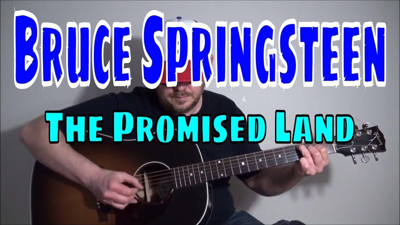 Bruce Springsteen The Promised Land Fingerpicking Guitar Cover