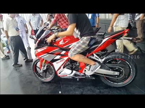 Raungan mesin Honda all new CBR250RR