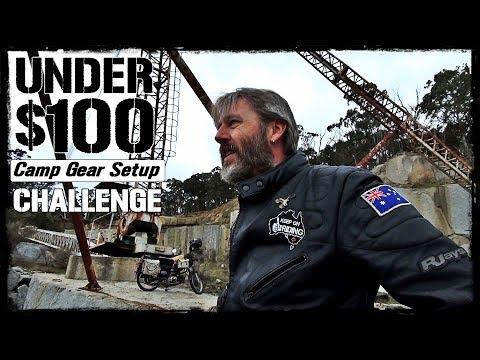 Under $100 Camp Gear Setup Challenge