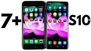 iPhone 7 Plus vs Galaxy S10 Plus Speed Test!