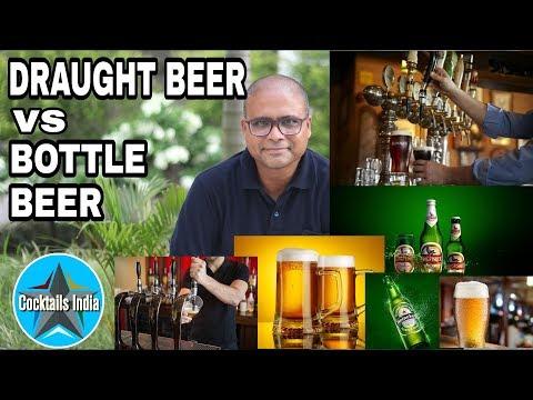 Draught Beer Vs Bottle Beer In Hindi | What Is Draught Beer | Dada Bartender |