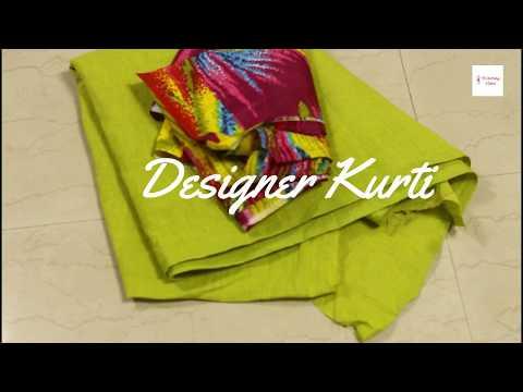 Kurti Kameez Suit Cutting & Stitching, How to make a designer kurti