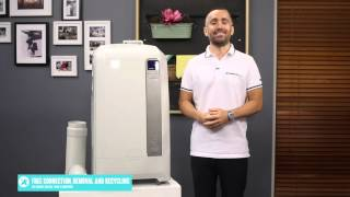 Delonghi PACWE120HP 3.52kW Portable Aircon reviewed by product expert - Appliances Online