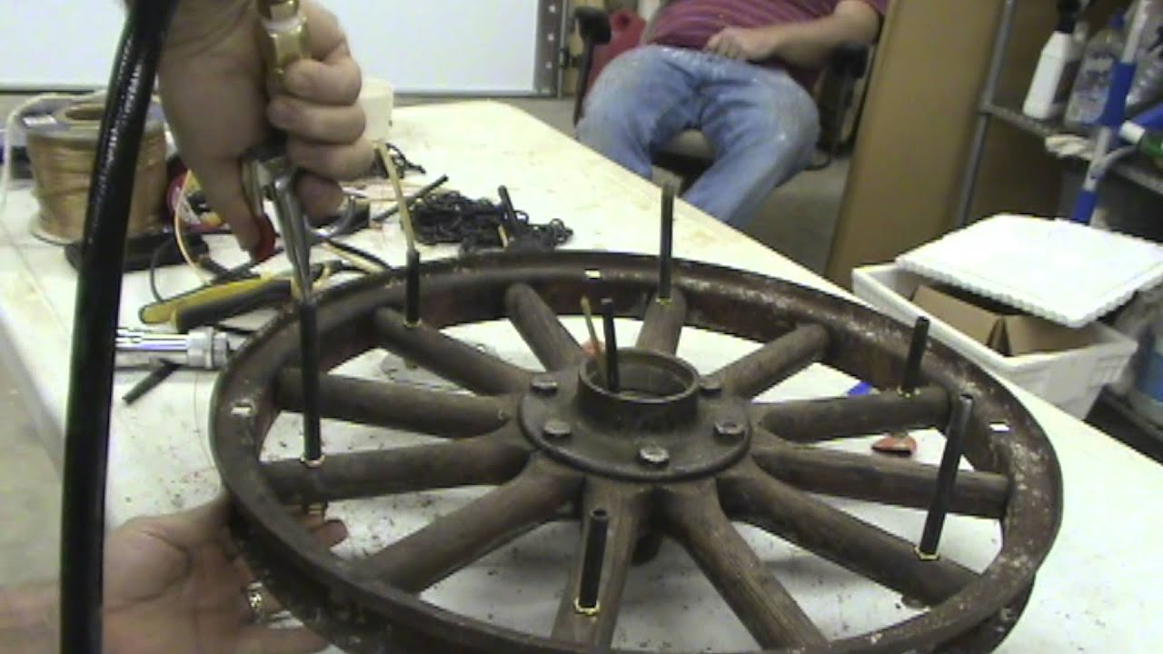 How to wire a custom chandelier youtube how to wire a custom chandelier aloadofball Choice Image