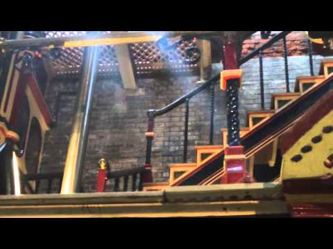 Steam's up at Crossness Cathedral