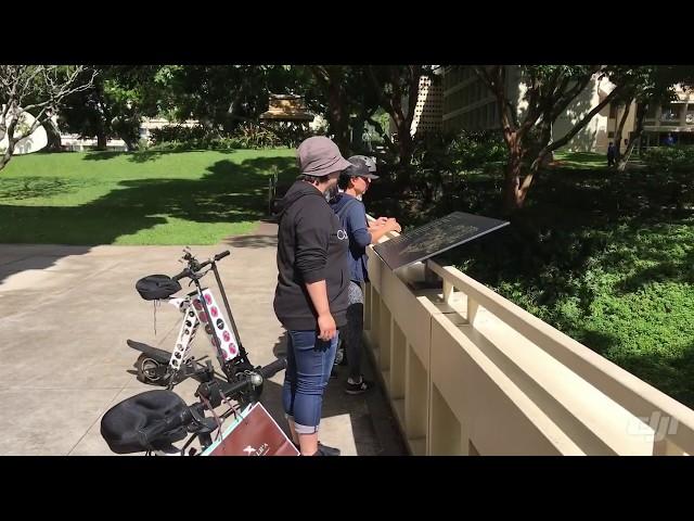 URB-E Hawaii Manoa Ride 1/22/2020
