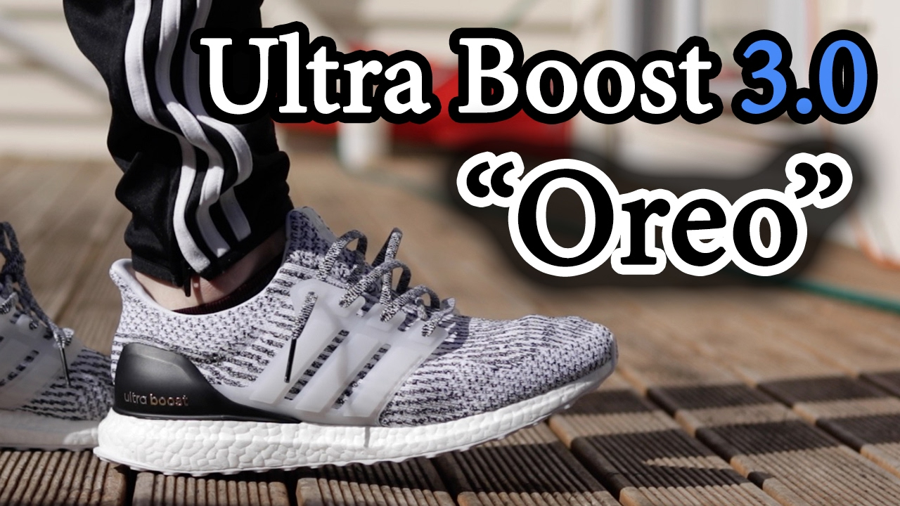 Adidas Ultra Boost 3.0 Oreo Zebra S80636 Authentic Free Shipping