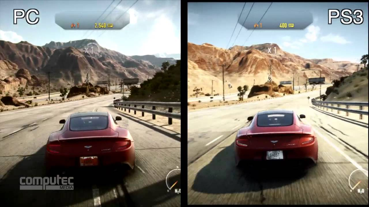 need for speed rivals pc versus ps3 graphics. Black Bedroom Furniture Sets. Home Design Ideas