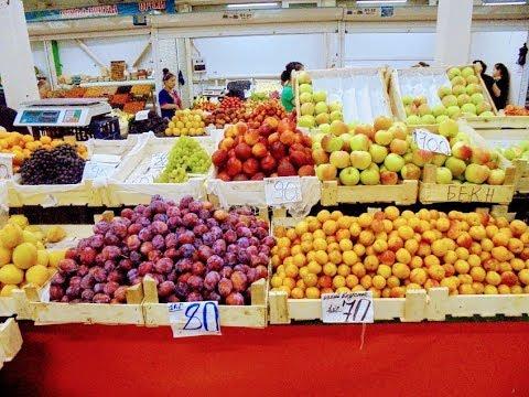 Мой родной город Новосибирск. - Центральный рынок. Обзор продуктов и цен  на сегодня.Август 2017.
