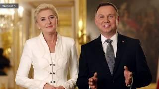 Para Prezydencka na urodziny Niepodległej - piękne życzenia dla Polaków ;-)