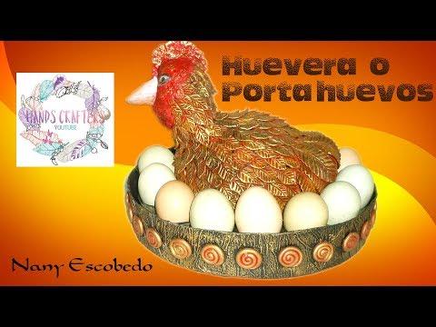 HUEVERA O PORTA HUEVOS (HANDS CRAFTERS)