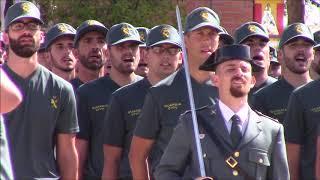 Celebración 12 de Octubre 2017. Academia de Guardias y Suboficiales. Baeza.