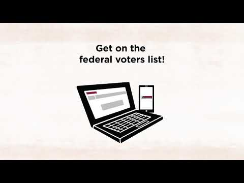 First-Time Voter Online Registration | Elections Canada