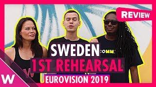 Sweden First Rehearsal: John Lundvik