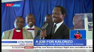 Kalonzo\'s new job generates political heat in Ukambani