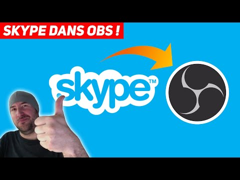 OBS : intégrer SKYPE !