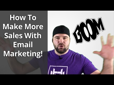 Email Follow Up Series - How To Make More Sales With Email Marketing