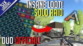 INSANE LOOT FROM SOLO RAID! | Duo Official PvP - Ep. 8 - Ark: Survival Evolved