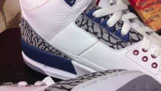 Stickie213 - Air Jordan III 3 True Blue 2011 Preview