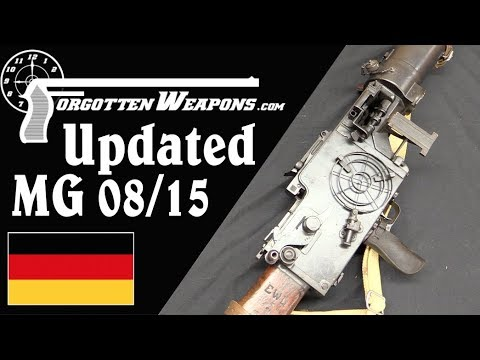 The MG 08/15 Updated Between The Wars