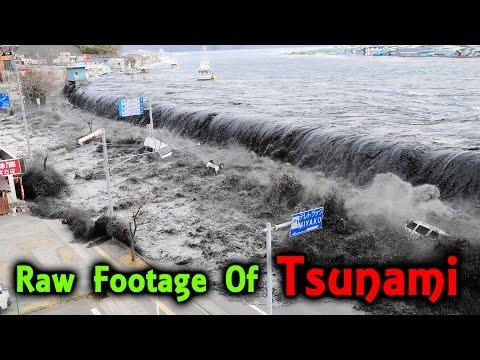 சுனாமியால் ஒரு நகரமே அழியும் பரபரப்பு காட்சி! | Tsunami Destroying A City Shocking Video!