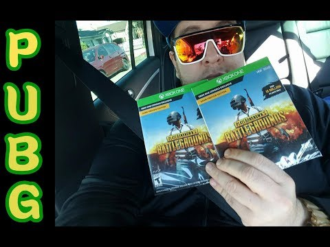 unboxing -PUBG- XBOX ONE |MEXICO|