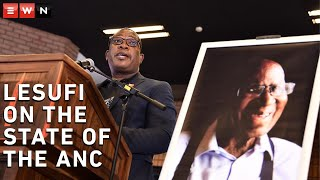 During his tribute to the late Andrew Mlangeni, deputy chairperson of the African National Congress in Gauteng spoke about the state of the ANC.  #RIPAndrewMlangeni #ANC #PanyazaLesufi