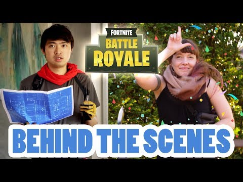 Fortnite: PUBG With Art Direction [Behind The Scenes]