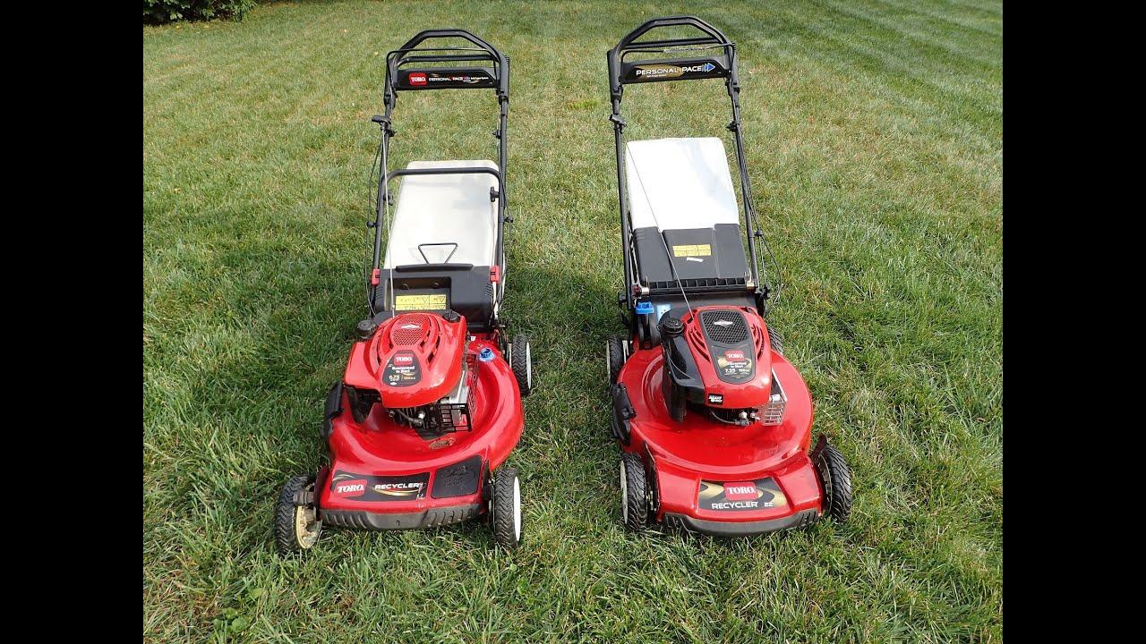 Toro Lawn Mower Comparisons Model 20066 Year 2008 Amp Model