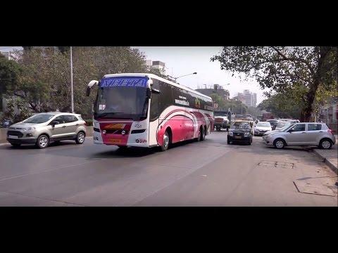 19 in 1 Compilation of Multi Axle Volvo & Mercedes Benz Buses of Neeta & Konduskar Travels !!!!