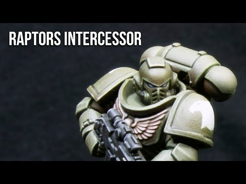 How to Paint Raptors Chapter Intercessor Space Marine