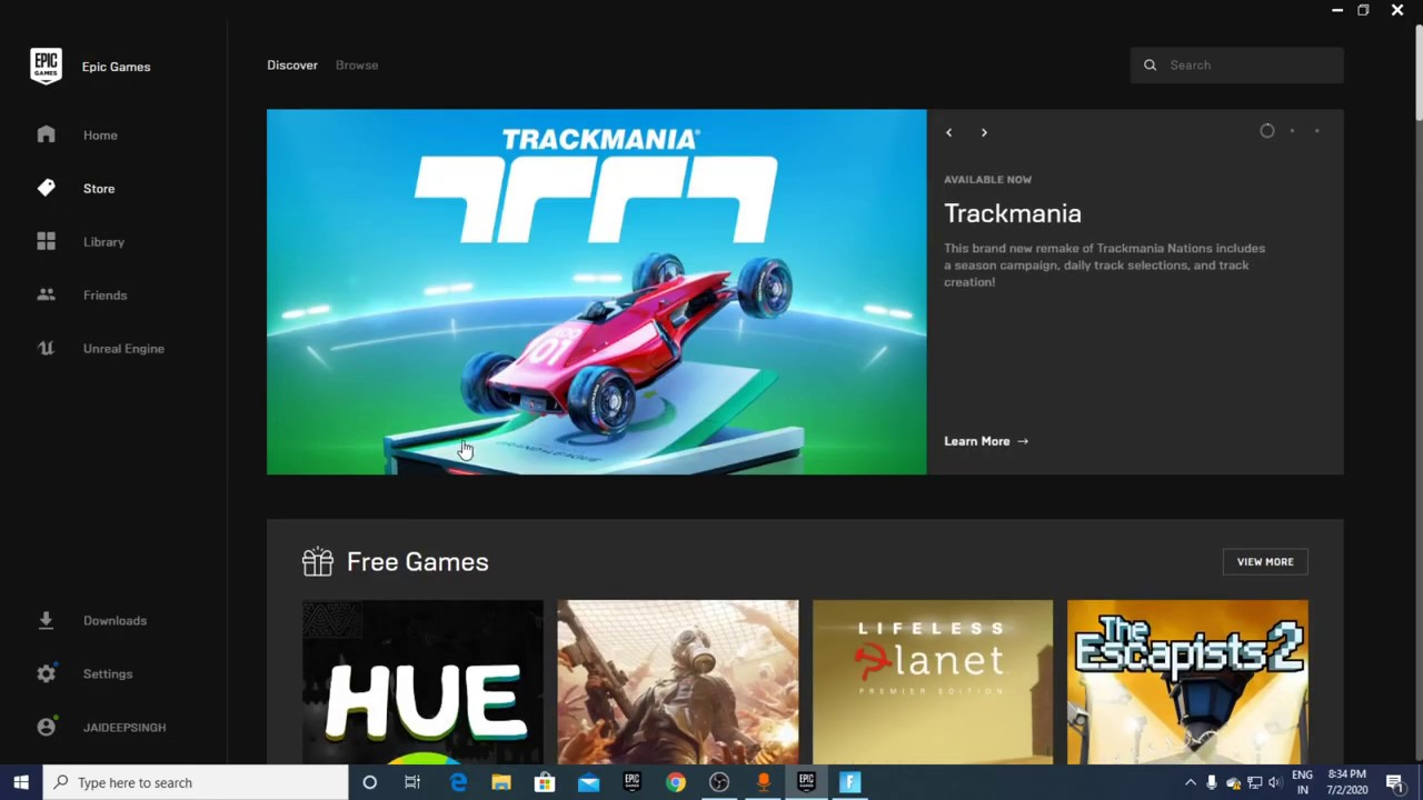 HUE Free Game On Epic Game Store Epic For Fun