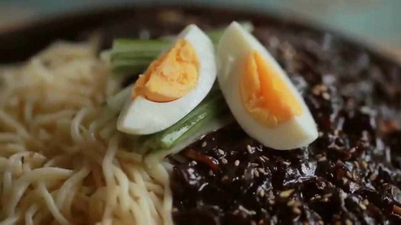 Cách làm mì tương đen Hàn Quốc – How to make Jjajangmyeon