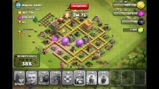 clash of clans rache | 123'000 gold 191'000 elexier + 43 trophies 3* | Rui - kings