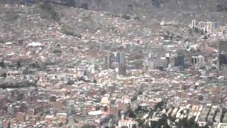 VISTA PANORAMICA 2011 DE LA CIUDAD DE LA PAZ (BOLIVIA)