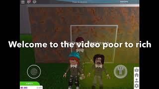 Poor to Rich (une histoire de roblox blockburg) (triste)