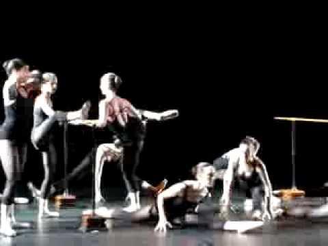 El profesor de danza