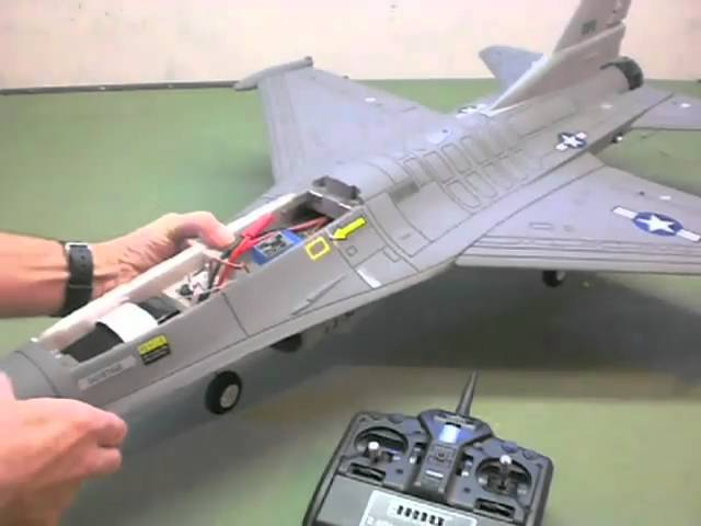 Airfield F-16 Fighter Jet Build by Jeff Part Three
