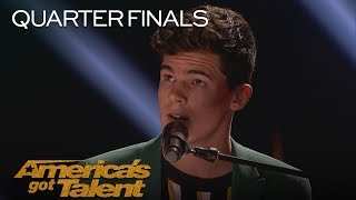 """Joseph O'Brien: 20-Year-Old Sings Original, """"We Could Build A House"""" - America's Got Talent 2018"""