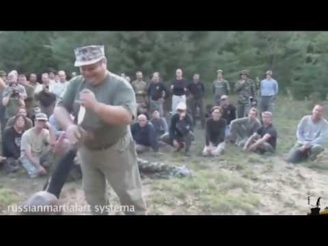 Российский спец против ножа ВМФ США