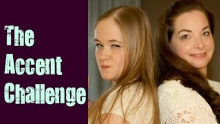 Accent Challenge - Midwest - Iowa Minnesota Wisconsin USA - Mother & Daughter