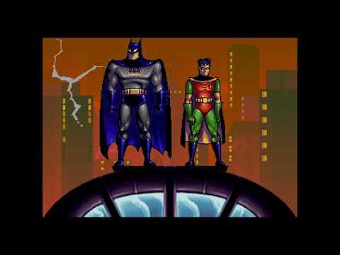 THE ADVENTURES OF BATMAN & ROBIN Intro (SEGA Mega Drive) - HD