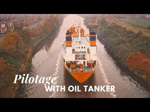 Houston Pilotage with Product Tanker