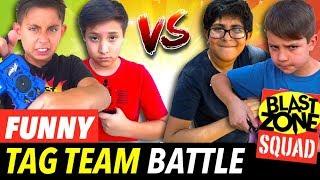 Beyblade Burst Funny Tag Team Battle! Beyblade Mugen Stadium Tournament!  Funny videos.