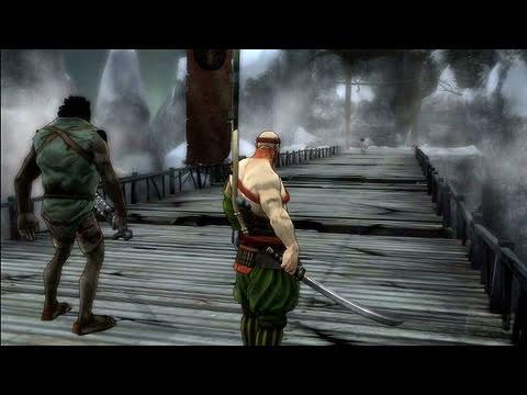 Afro Samurai Xbox 360 Gameplay - Bridge Fight