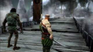 Afro Samurai Xbox 360 Gameplay - Bridge Fight